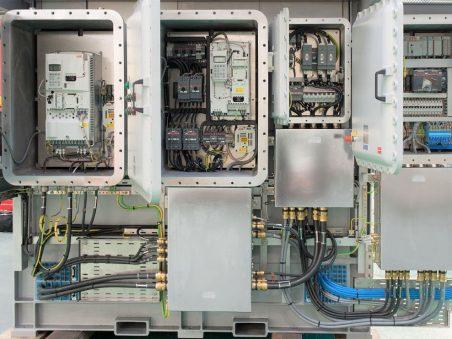 Bespoke hotwash control panels