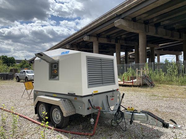 high pressure waterjetting unit