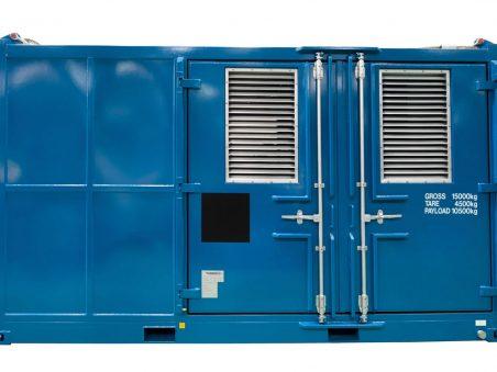 pressure test unit DNV container
