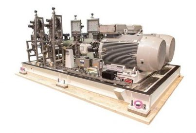 Cooling pump skid