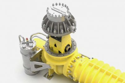 Subsea process pump - protective housing/casing
