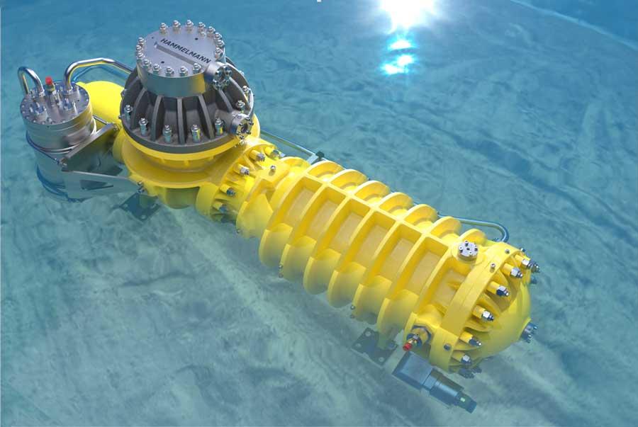 Hammelmann subsea pump